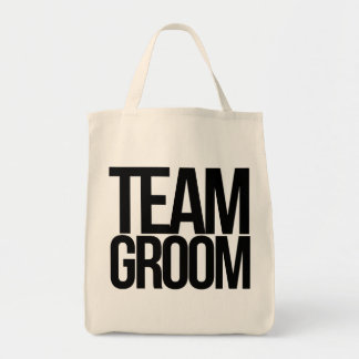 Team Groom bachelor party Grocery Tote Bag