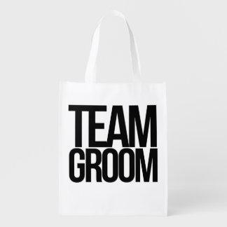 Team Groom bachelor party Reusable Grocery Bag