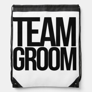 Team Groom bachelor party Rucksack