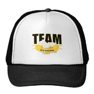 Team Groom - Beer Trucker Hats