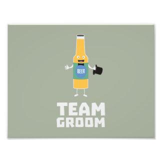 Team Groom Beerbottle Zu77s Art Photo