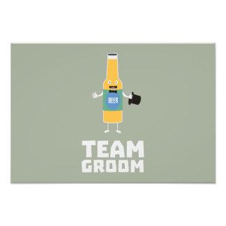 Team Groom Beerbottle Zu77s Photo