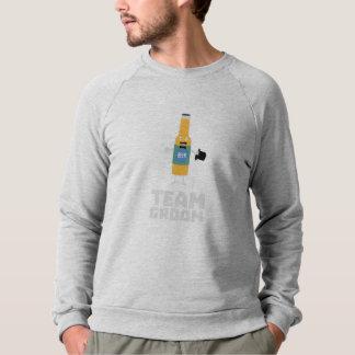 Team Groom Beerbottle Zu77s Sweatshirt