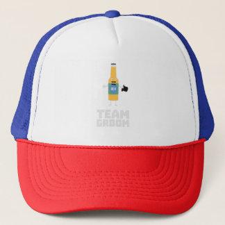 Team Groom Beerbottle Zu77s Trucker Hat