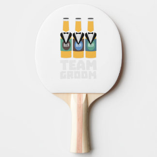 Team Groom Beerbottles Zqf18 Ping Pong Paddle
