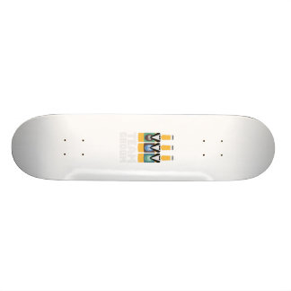 Team Groom Beerbottles Zqf18 Skate Board