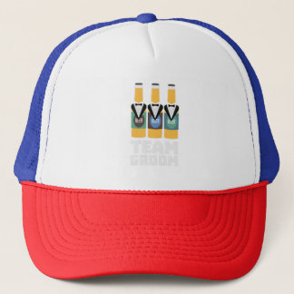Team Groom Beerbottles Zqf18 Trucker Hat
