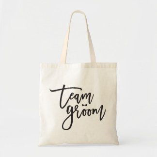 Team Groom Bow Tie Bachelor Party Wedding Bag