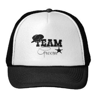 Team Groom - cowboy Mesh Hat