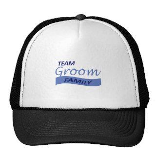 TEAM GROOM FAMILY TRUCKER HAT