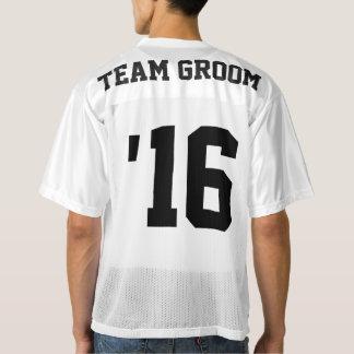 Team Groom Football Jersey