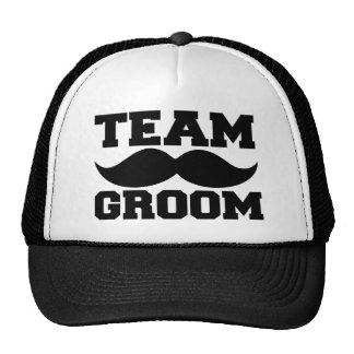 Team Groom funny groomsmen hat