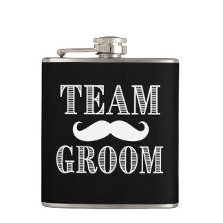 Team Groom Groomsmen flask