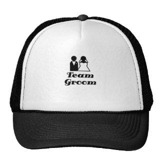 Team Groom Mesh Hats