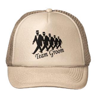 Team Groom (Men) Cap