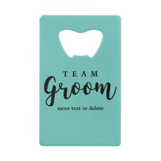 Team Groom Modern Wedding Favors for Groomsmen