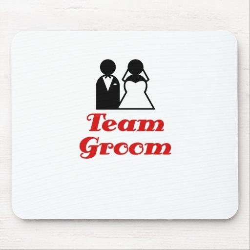 Team Groom Mousepads