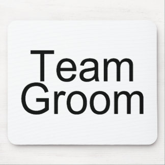Team Groom Mouse Pad