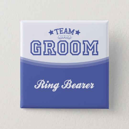 Team Groom-Ring Bearer (Stars) Button