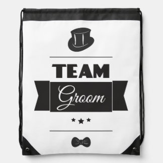 Team groom rucksacks