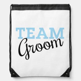 Team Groom Script Backpacks