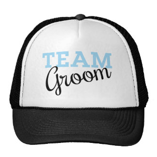 Team Groom Script Cap