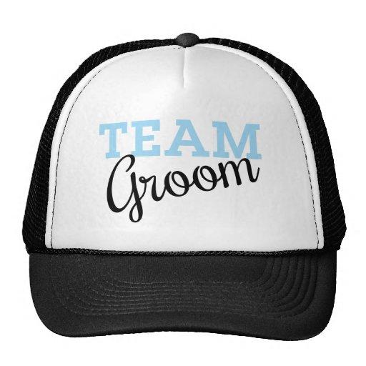 Team Groom Script Hat