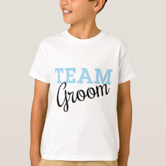 Team Groom Script T-Shirt