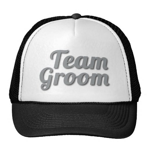 Team Groom Shadow Hat