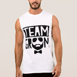 Team Groom Sleeveless Shirt