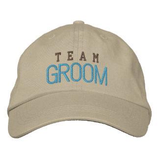 Team groom spirit bachelor blue baseball cap