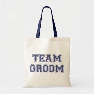 Team Groom Tote Bag