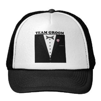 Team Groom (tuxedo) Cap
