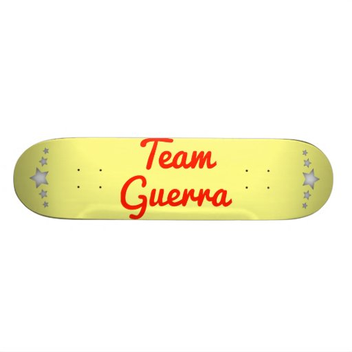 Team Guerra Skate Board