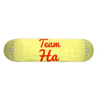 Team Ha Skate Board