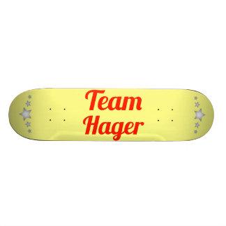 Team Hager Skate Deck