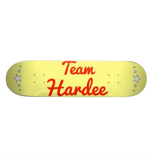 Team Hardee Skate Board Decks