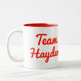 Team Hayden Mug
