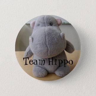 Team Hippo 6 Cm Round Badge