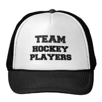 Team Hockey Players Mesh Hat