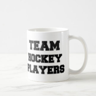 Team Hockey Players Mugs