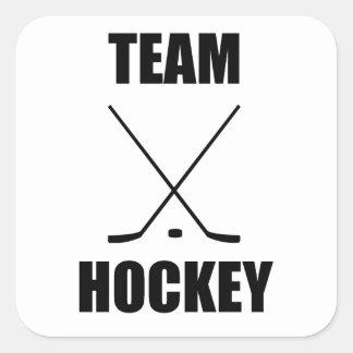 Team Hockey Sticker