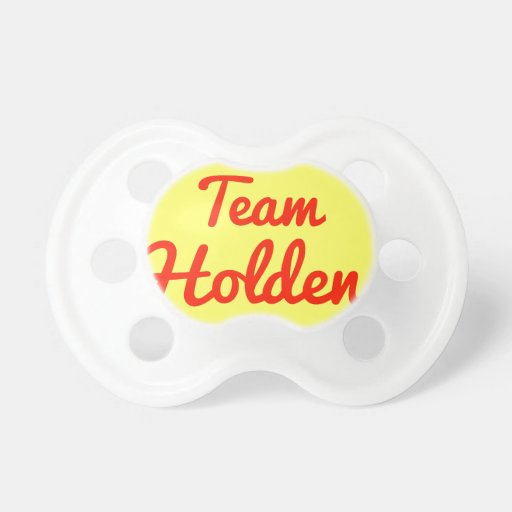 Team Holden Pacifiers