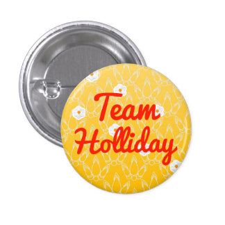Team Holliday Pins