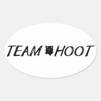 Team hoot Sticker
