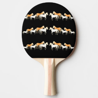 Team Horses Ping Pong Paddle