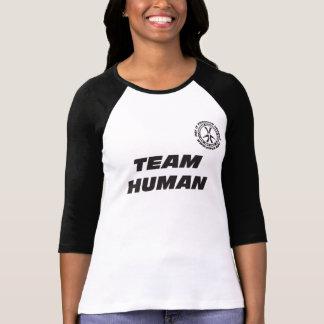 TEAM HUMAN Raglan T-Shirt