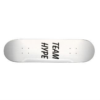 Team Hype skate board