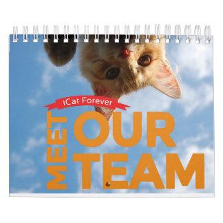 Team ICat Forever Calendar