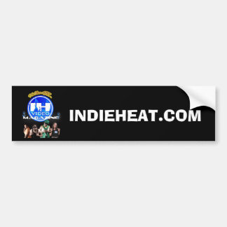 Team Indie Heat Logo Bumper Sticker Car Bumper Sticker